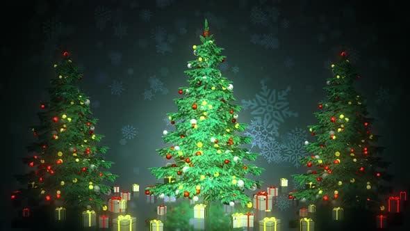 Christmas Tree 02 Hd
