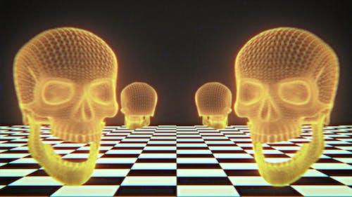 Halloween Vaporwave Background Loop