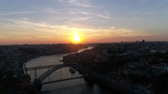 Thumbnail for Historic City of Porto at Sunset