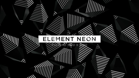 Thumbnail for Element Neon VJ Loops Background