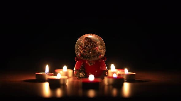 Ornament Candle Flame in the Wind