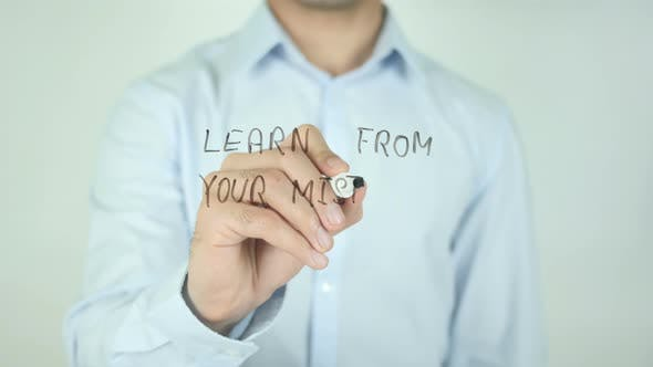 Thumbnail for Learn From Your Mistakes�, Writing On Screen