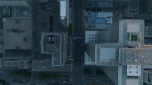 Buildings seen from above