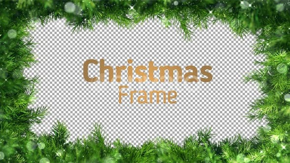 Thumbnail for Green Christmas Frame