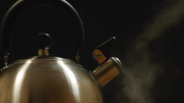 Thumbnail for Steam From A Steel Kettle