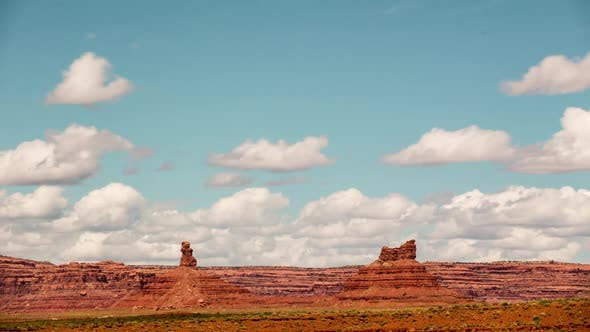 Thumbnail for Time-Lapse Desert Clouds Valley Of The Gods