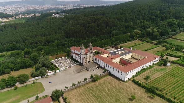 Thumbnail for Panoramic View of Tibães Monastery, Braga, Portugal