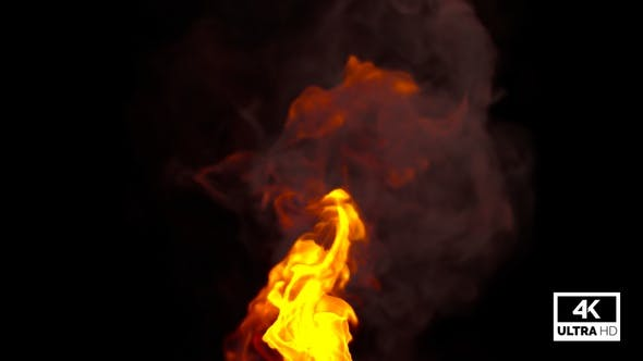 Realistic Fire Rising