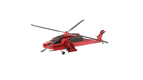 Long range weapon defense helicopter