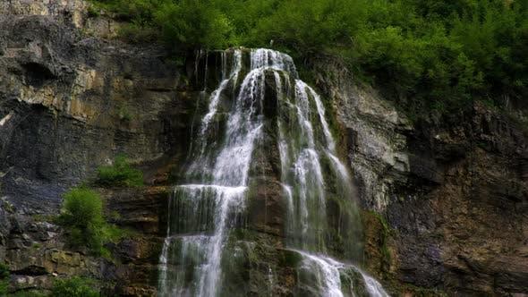 Thumbnail for Part of Bridal Veil Falls in Provo, Utah