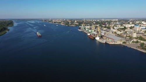 Kherson City in Ukraine Landscape Seafront