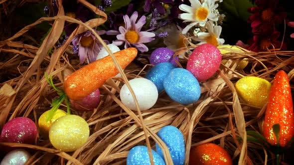 Thumbnail for Colorful Traditional Celebration Easter Paschal Eggs 01