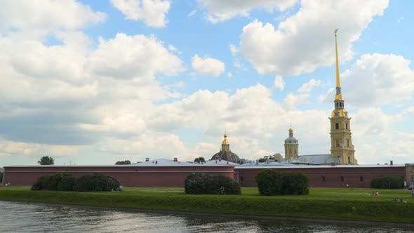 Thumbnail for Architecture de la forteresse Pierre et Paul à Saint-Pétersbourg
