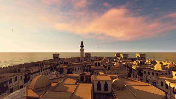 Thumbnail for Arabian City Aerial
