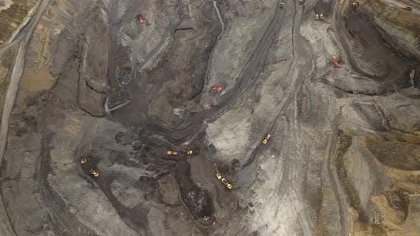 Thumbnail for Aerial Survey Hyperlapse Quarry Coal Mining