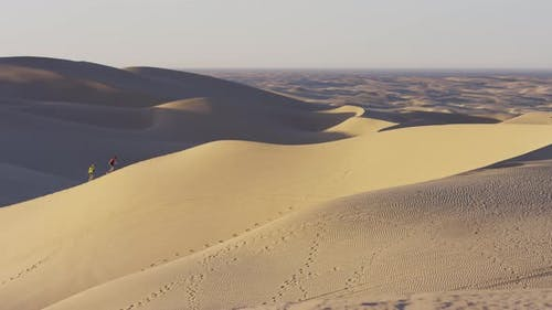 Besichtigung der Sanddünen