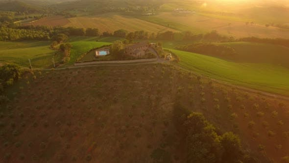 Thumbnail for Field and Holiday House in Tuscany