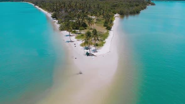 Thumbnail for Aerial View of Laem Had Beach in Koh Yao Yai, Island in the Andaman Sea Between Phuket and Krabi