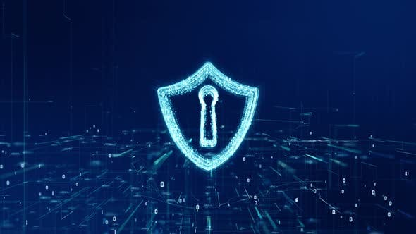 Hield Icon Of Cyber Security