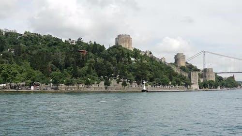 Rumelihisarı fortres and the Fatih Sultan Mehmet Bridge