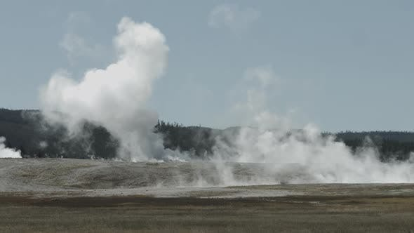 Thumbnail for Fumaroles at the Yellowstone National Park, USA