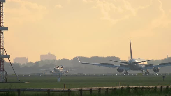 Thumbnail for Early Morning in Amsterdam Airport