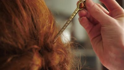 Vintage hairpin