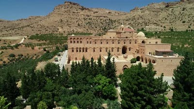 Aerial View Monastery