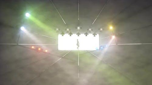 Bühnenlicht-Simulation