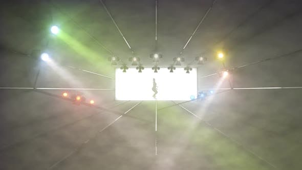 Thumbnail for Stage Light Show Simulation