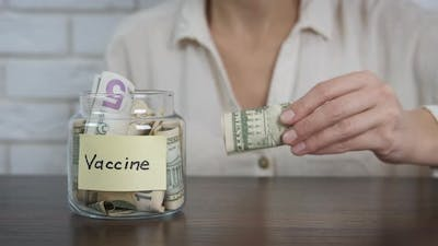 An Expensive Vaccine. Money for the Vaccine