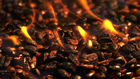 Thumbnail for Burning Roasted Coffee