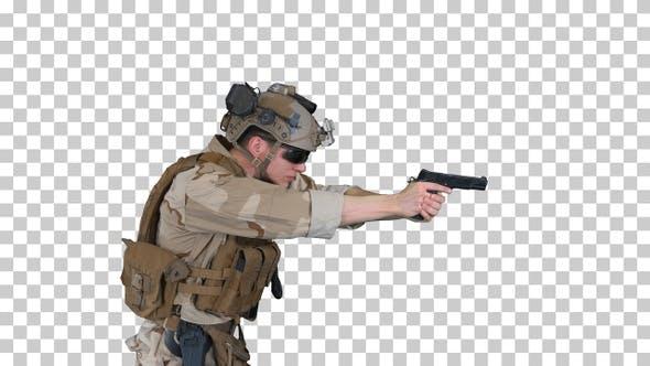 Modern soldier counter terrorist squad, Alpha Channel