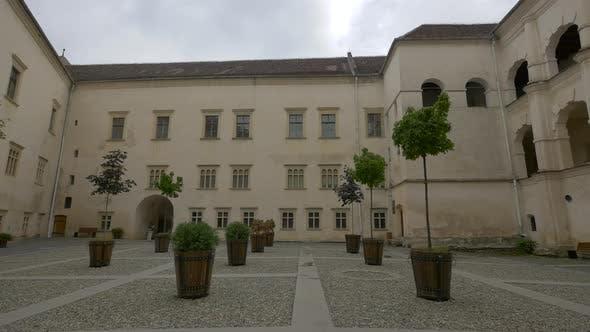 Thumbnail for Inner courtyard at Fagaras fortress