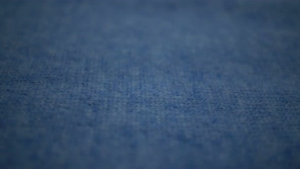 Thumbnail for Macro Texture Blue Fabric