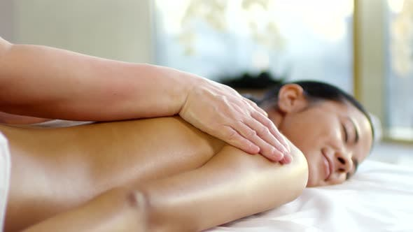 Thumbnail for Middle Eastern Young Woman in Spa Center
