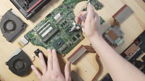 Thumbnail for Disassembled Laptop Repair