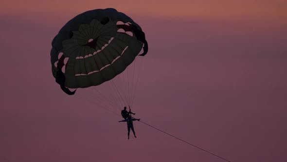 Thumbnail for Parasailing Extreme Sport