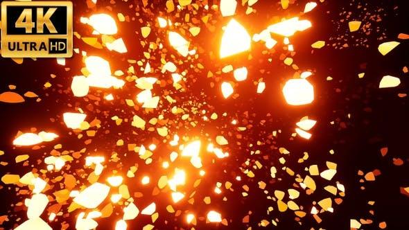 Thumbnail for Glowing Debris 4k