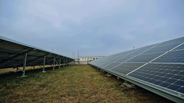 Thumbnail for Solar Panels Under the Blue Sky