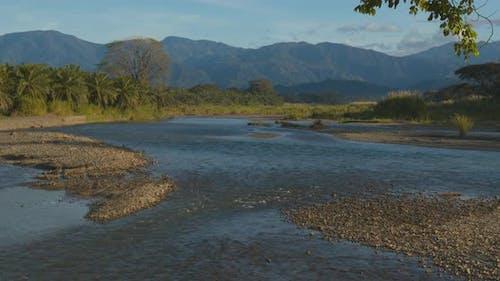 River or Stream Quepos in Costa Rica Central America