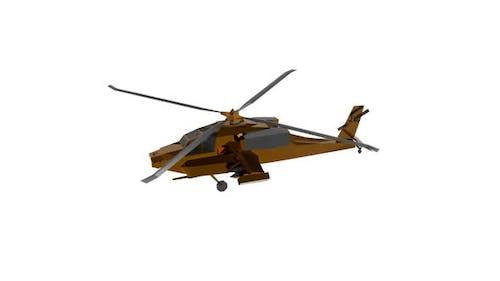 Short range combat helicopter