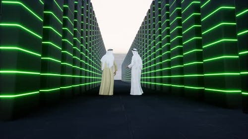 Muslim Arabic Science for Medical Design Data Center High Technology