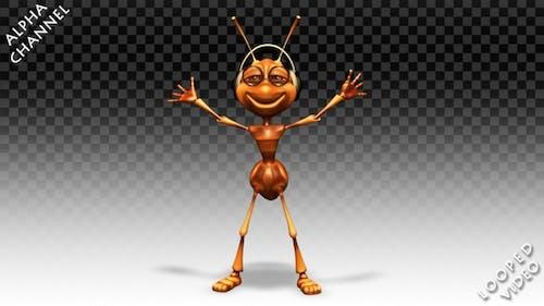 Funny Ant - Dance Thriller