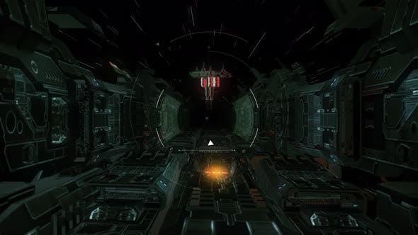 Futuristic Scifi Spaceship