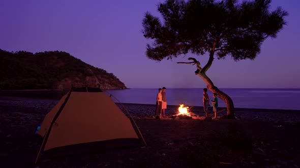 Thumbnail for Tourist Camp on the Mediterranean