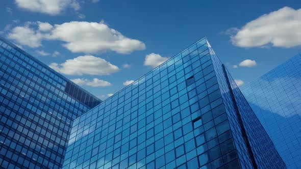 Thumbnail for Modern Skyscrapers and Clouds