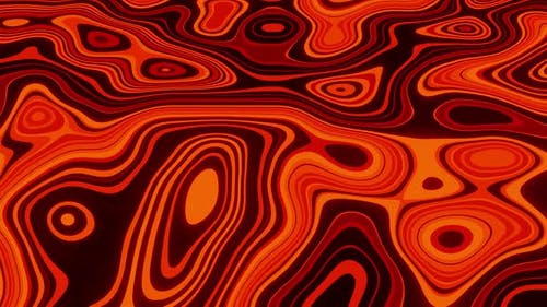 Lava Background Loop 4K