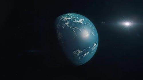 Habitable Exoplanet - Ocean World