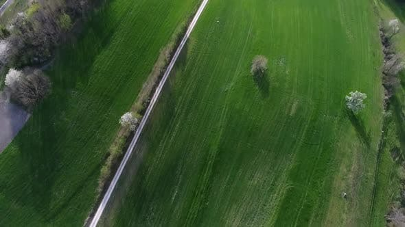 Thumbnail for Aerial video of the Aarau County countryside in Switzerland, Europe
